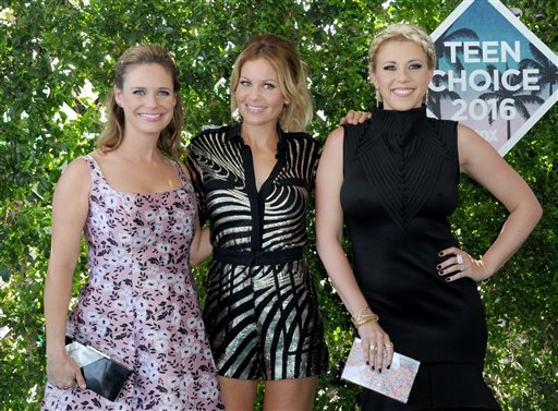 Andrea Barber, Candace Cameron Bure, Jodie Sweetin